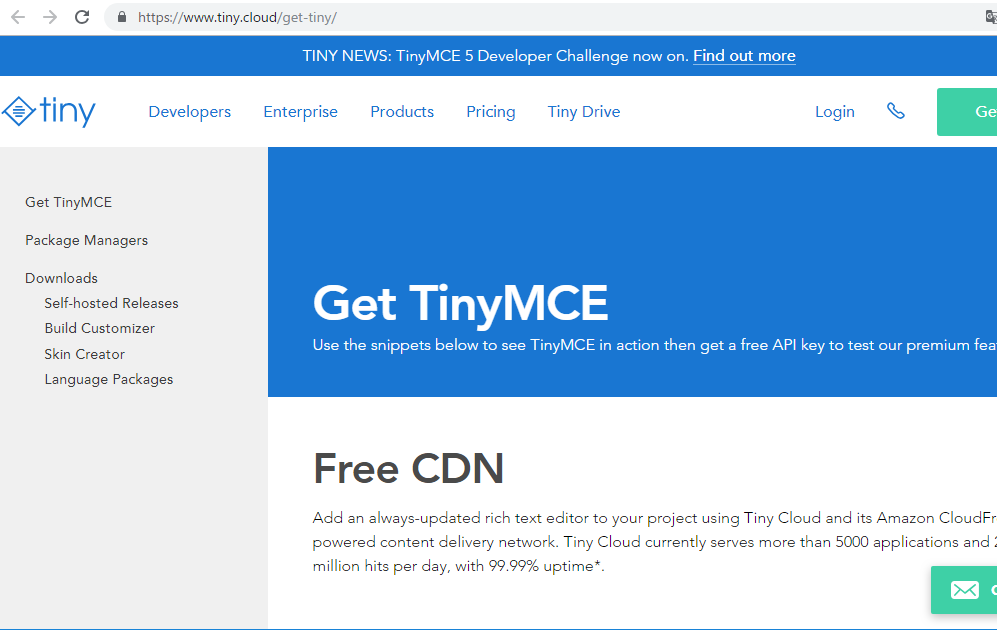 Tinymce File Manager